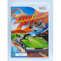 Hot Wheels Track Attack Pt-br - Nintendo Wii - Usado