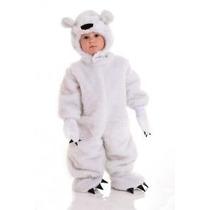 Fantasia Urso Polar Bichinhos Macacão Parmalat P Entrega