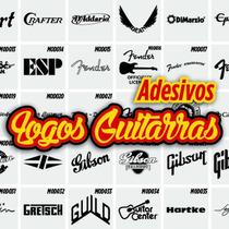 Adesivos Logo Ibanez, Fender, Giannini, Gibson, Boss,guitar