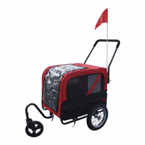 Carro Para Perro Aosom Elite-jr Dog Pet Bike Trailer