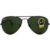 Lentes Rayban 3025 002 Marco Negro Originales Made In Italy