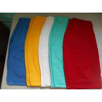 Falda Corta Para Dama En Gabardina 100% Algodon 5 Colores