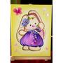 Cuadro Decorativo Infantil Conejita Violeta