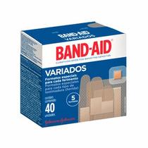 Curativo Band-aid 5 Formatos 40 Unidades