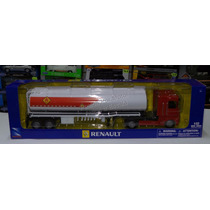 1:32 Renault Magnum C Pipa New Ray Trailer Chato