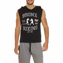 Camisa Regata Machão Com Capuz Everlast Musculação Academia
