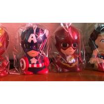Alcancias Figuras De Ceramica De Super Heroes, Avengers