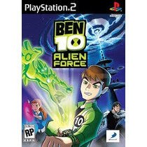 Patch Jogo Ps2 Ben 10 Alien Force Frete Grátis