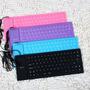Teclado Flexível De Silicone Usb P/ Notebook Pc *cores **