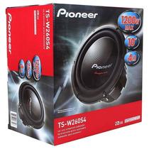Subwoofer Pioneer Ts-w260s4 10 Pol. 1200w Bobina Simples