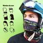 Cuello Gorro Térmico Multiuso Deportivo+guantes Primera Mano