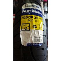 Pneu Dianteiro Michelin 120/70-17 Pilot Road 4 Hornet Cbr R1