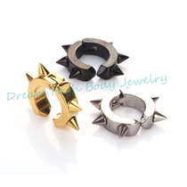 B Arete Trepador Dark Fashion Metal
