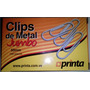 Clips De Metal Jumbo Printa 50 Mm. Caja X 100 Unid.
