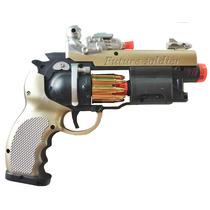 Pistola Arma Arminha De Brinquedo Sons Luzes