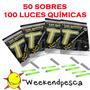 Luz Quimica Para Pesca 100tubos-weekendpesca-envíos Locales