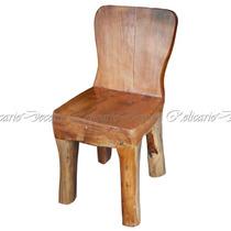 Cadeira Madeira Maciça Design Rustico