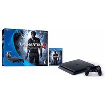 Ps4 Playstation 4 Uncharted 4 Slim 500 Nuevo Modelo 12 Pagos