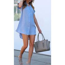 Vestidos Limonni Mujer Casuales Talego Cortos Colores 023