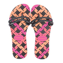 Chinelo Havaianas Flat Gum Fashion - Roxo