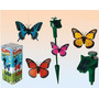 Mariposa Solar Real Aletea Gira Ideal Jardin Flores Plantas
