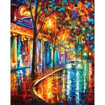 Pintura Al Óleo Night Cafe Por Leonid Afremov