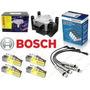 Kit Bobina+cables+bujias 3 Elec Bosch Voyage-suran-fox-trend