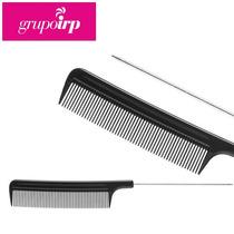 Peine Punta Fina De Metal Para Peinados Y Aplicar Tintes
