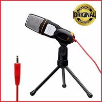Microfone Com Fio Condensador Sf-666 Estudio Pc Original