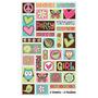 Stickers De Hippie Chic - Buho, Paz Y Amor X60