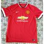 Camisa Manchester United, 2014-15, Tam G, N°20, Van Persie