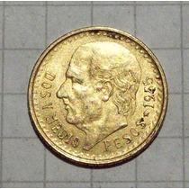 Mexico 2 1/2 Pesos Oro 1945 2,1gms Excelente