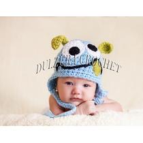 Gorro Tejido Crochet Bebé Niña Niño Unisex Regalo Babyshower