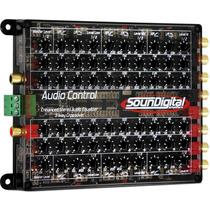 Equalizador Crossover Soundigital Audio Control 3 Vias Som