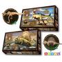Dimetrodon - Maqueta Armar Mdf - Dinosaurios - Collectoys