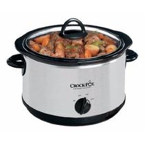Olla De Cocción Lenta Crock Pot Scr503 Acero Inox