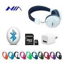 Audifonos Inalambricos Con Bluetooth Y Micro Sd Recargable