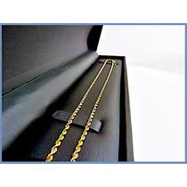 Cadena Oro Amarillo Solido 10k Mod. Torzal 2mm 6.7grs Acc