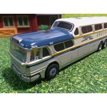 H5k Autos Escala 1/87 Autobus Mini Metals Gmc Greyhound 4500