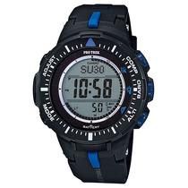 Relógio Casio Pro Trek Triple Sensor Masculino Prg-300-1a2dr