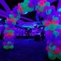 Globos Neon Fiestas Pencil Redondos Eventos Decoracion