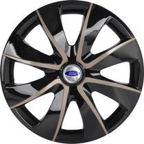 Jogo Calota Aro 14 Prime Gold Ka Fiesta Focus Escort Ford