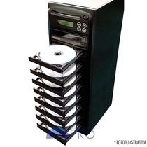 Torre Copiadora De Dvd / Cd Com 9 Gravadores Philips Lite-on