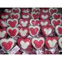 Chupetines De Chocolate Corazón Con Minnie Mickey 10 X