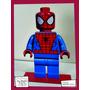 Souvenir Aplique Madera 30cm Heroes Spiderman Lego Araña