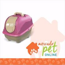 Banheiro Sanitário Gatos Grande Plast Pet Eliminador De Odor