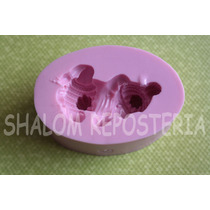 *molde Silicon Bebe 3d Cn Ropa Baby Shower Fondant Chocolate
