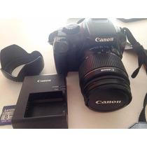 Cámara Canon Rebel T3 + Accesorios + Lente 18-55 Mm
