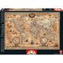 Puzzle Educa X1000 Mapa Mundi Antiguo 68x48 Cm Tuni 15159