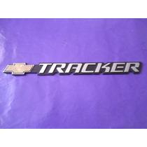 Emblema Tracker Chevrolet Camioneta